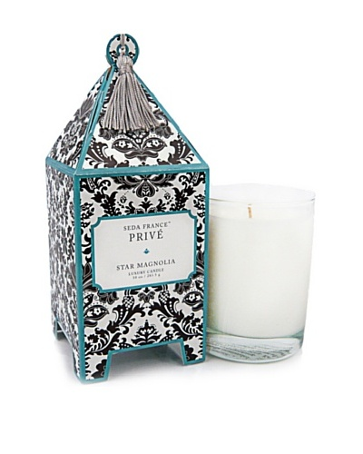 Seda France Star Magnolia Pagoda Box Candle, 10-Oz.