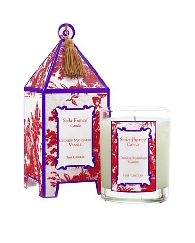 Sedafrance Chinese Mandarin Vanille 10-Oz. Pagoda Candle