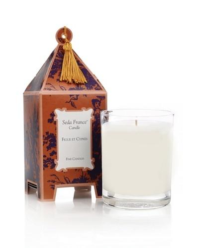 Seda France Figue et Cyprès Limited Edition Pagoda Box Candle, 10-Oz.