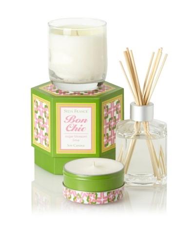 Seda France Sugar Blossom Lime Bon Chic Scent Set