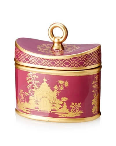 Seda France 20-Oz. Currant Pourpre Ceramic Candle