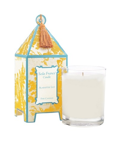 Sedafrance Alabaster Lily 10-Oz. Pagoda Candle
