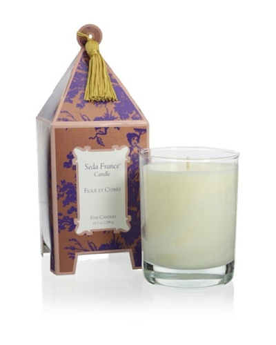 Seda France 10-Oz. Fig & Cypress Limited Edition Pagoda Candle