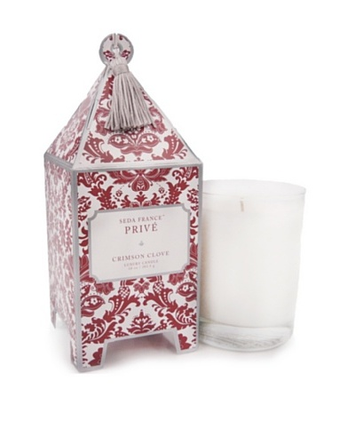 Seda France Crimson Clove Pagoda Box Candle, 10-Oz.