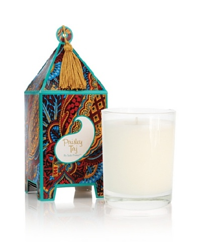 Seda France Paisley Taj Pagoda Box Candle, 10-Oz.