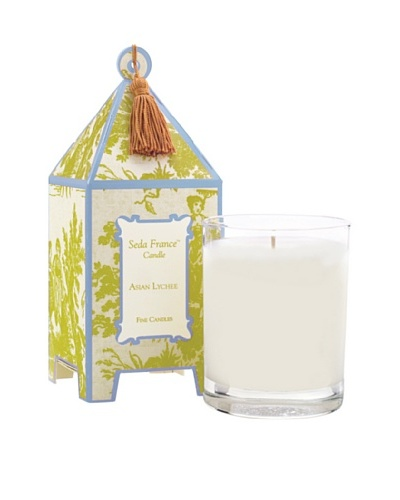 Sedafrance Asian Lychee 10-Oz. Pagoda Candle