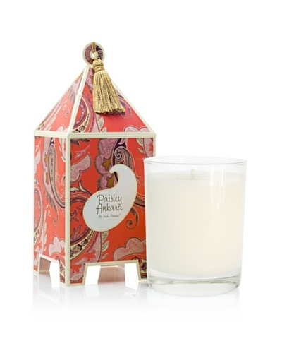 Seda France Paisley Ankara Pagoda Box Candle, 10-Oz.