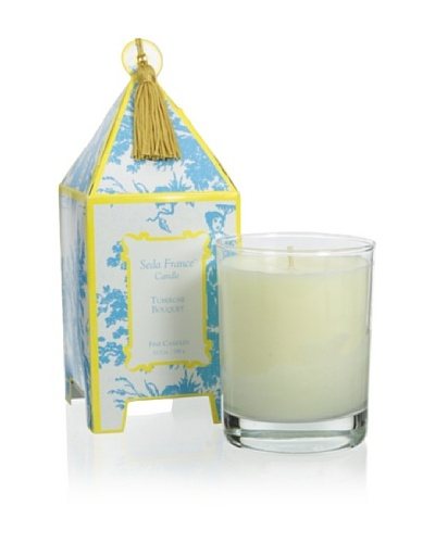 Seda France 10-Oz. Tuberose Bouquet Pagoda Candle