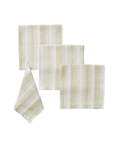 Sferra Set of 4 Ascot Dinner Napkins, Olive