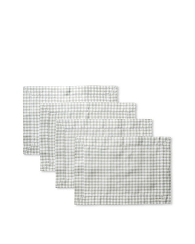 Sferra Set of 4 Piccadilly Placemats, Moss