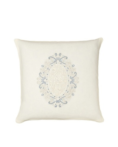 1891 by SFERRA Claribel Pillow, Eggshell