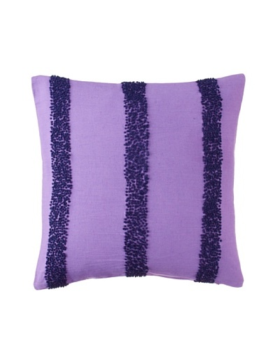 1891 by SFERRA Sadie Decorative Pillow, Purple, 18 x 18