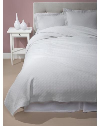 Sferra Sabrina Blanket Cover Set [Light Grey]