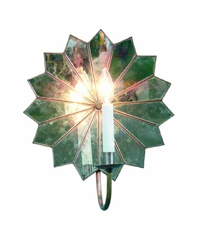 Shades of Light Multi Mirror Star Wall Sconce