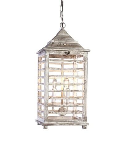 Shades of Light Wooden Shutter Lantern-Large