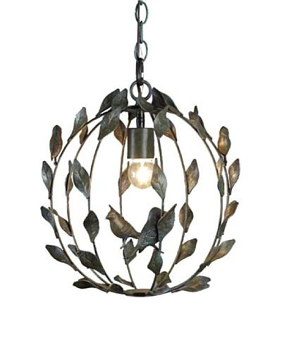 Shades of Light Birds on a Vine Lantern