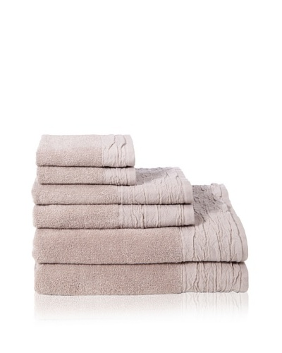 Mili Designs Set of (6) 500-Gram Bath Towels, Taupe