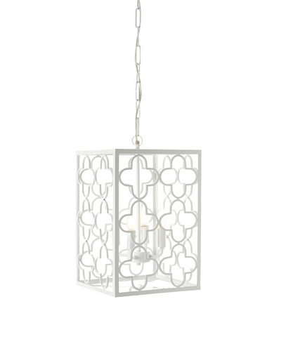 Shine by S.H.O Alhambra Pendant [White]