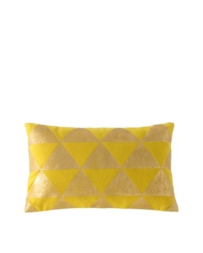 Shiraleah Caravan Rectangle Pillow, Yellow