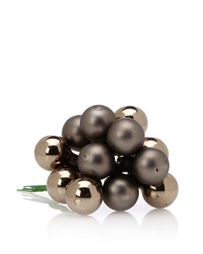Shiraleah Set of 12 Holiday Mini-Ball Clusters