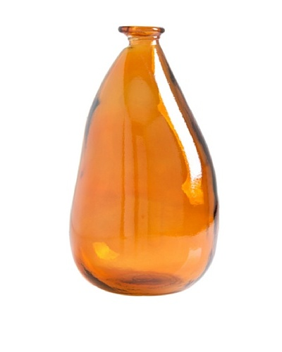 Shiraleah Large Orange Balloon Vase