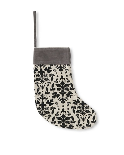 Shiraleah Baroque Stocking [White/Grey/Black]