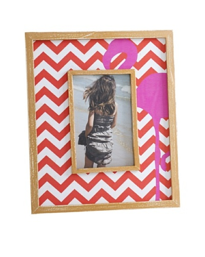 "Shiraleah Flamingo 4"" x 6"" Picture Frame"