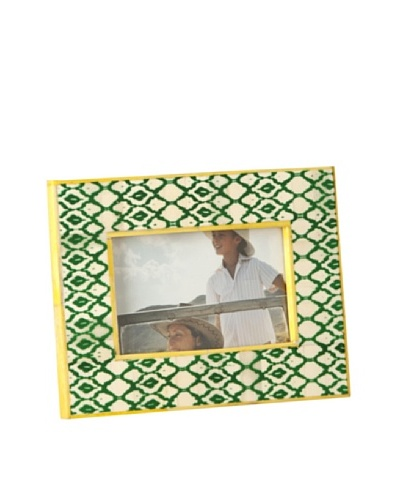 Shiraleah Hand-Painted Bone Picture Frame