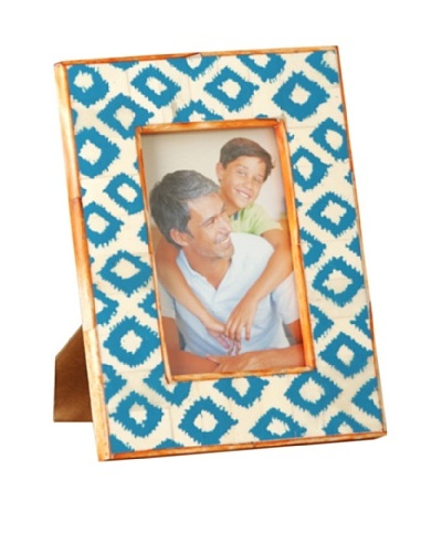 Shiraleah Painted Bone Picture Frame