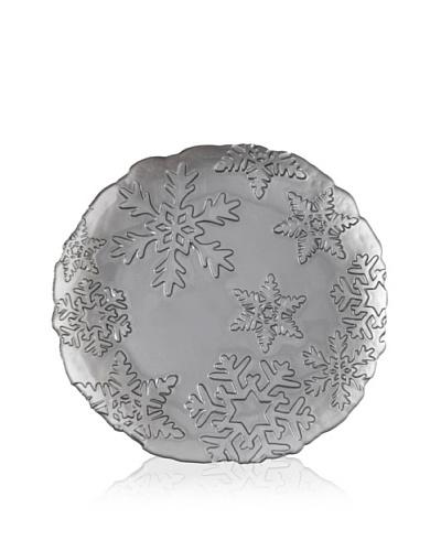 Shiraleah Snowflake Platter, Pewter