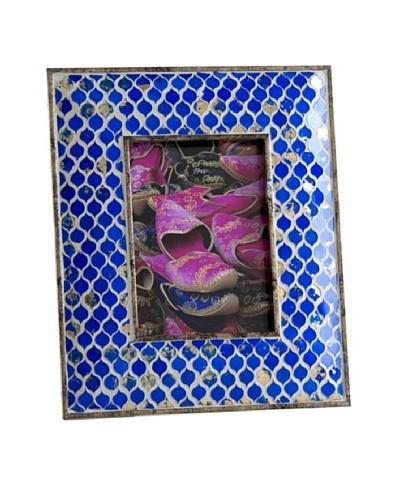 Shiraleah Aliya Cobalt Tile Mosaic 5 x 7 Picture Frame