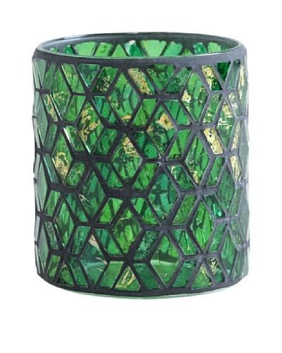 Shiraleah Slimane Emerald Mosaic Votive