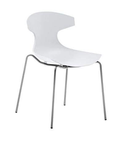 Domitalia Echo Chair, White