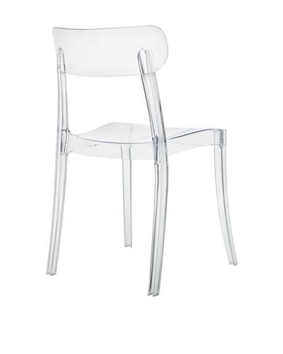 Domitalia New Retro Chair, Clear
