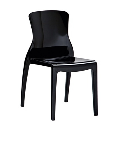 Domitalia Crystal Chair, Black