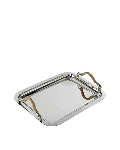 Sidney Marcus Marina Stainless Steel Tray, Polished