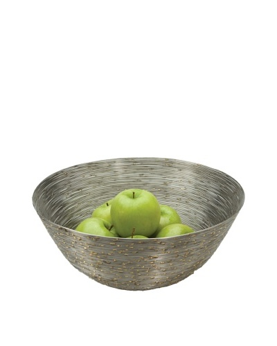 Sidney Marcus Wire Stainless Steel Serving Bowl, Round
