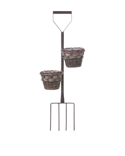 Skalny Wall Fork Planter with Baskets