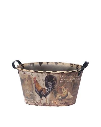 Skalny Oval Tin Tub