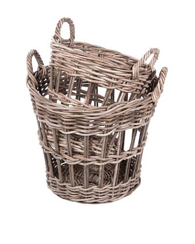 Skalny Set of 2 Rattan Storage Baskets