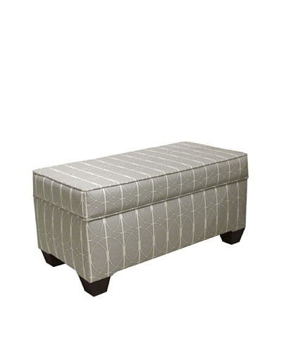 Skyline Storage Bench, Menton Linen