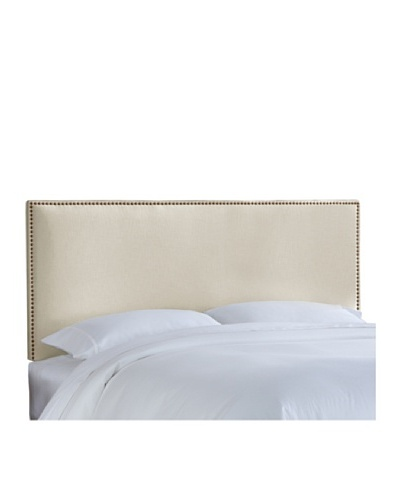 Skyline Brass Nail Button Headboard