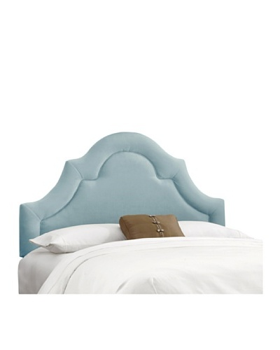 Skyline High-Arch Border Headboard, Caribbean, Queen