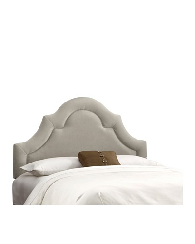 Skyline High-Arch Border Headboard [Light Grey]