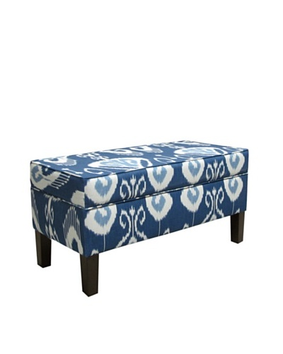 Skyline Storage Bench, Iris
