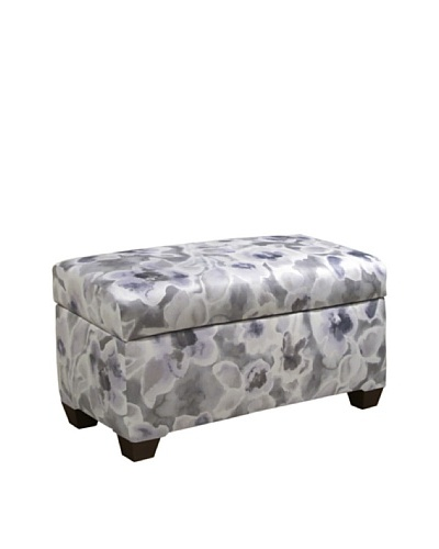 Skyline Storage Bench, Florinda Pearl