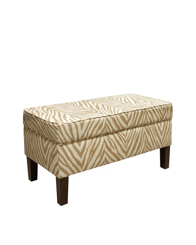 Skyline Storage Bench, Sudan Camel