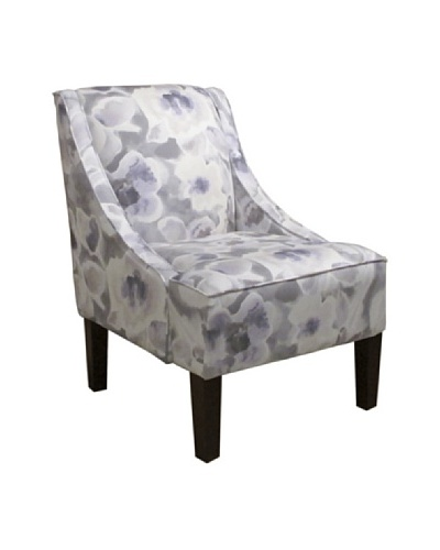 Skyline Swoop Arm Chair, Florinda Pearl