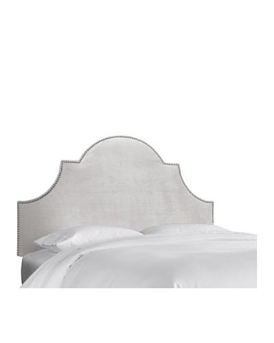 Skyline High Arch Nail Button Headboard