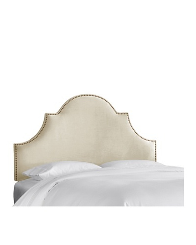 Skyline High Arch Nail Button Headboard